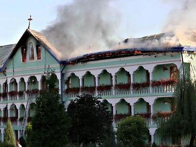 В монастыре на юго-западе Украины ликвидирован крупный пожар