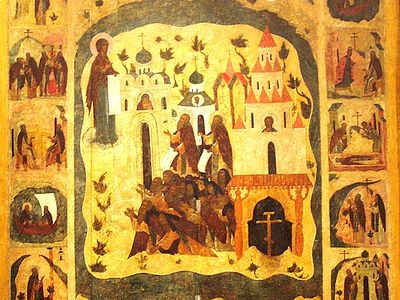 Holy Fathers of Solovki—Saints Herman, Zosima and Sabbatius