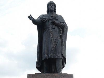 Blessing of St. Vladimir Statue in Smolensk