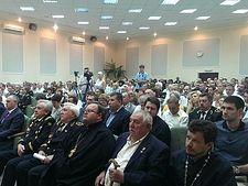 Шахтёров Дзержинска поздравил с профессиональным праздником священник