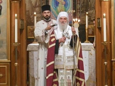 His Holiness Patriarch Irinej Speaks on New Saints Mardarije and Sebastian