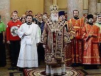 Проповедь в праздник Усекновения главы Иоанна Предтечи после Литургии в Иоанно-Предтеченском ставропигиальном монастыре