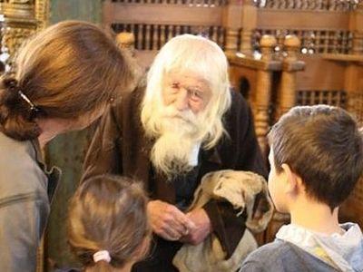 На престольный праздник в Рыльский монастырь пришел старец Добри Добрев (ФОТО)