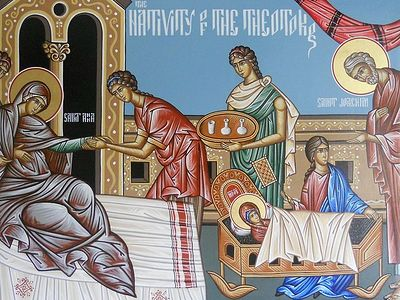 Sermon for the Nativity of the Theokotos from the Hermitage of the Holy Cross