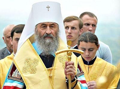 Предстоятель УПЦ обратился к президенту страны в связи с событиями в Катериновке