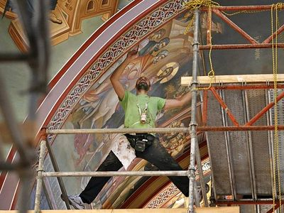 Holy Stories Unfold in New Icons at Holy Trinity Greek Orthodox Church