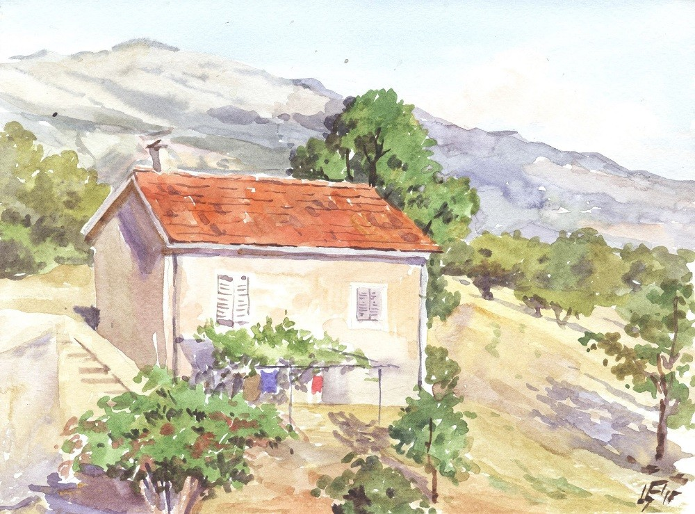 В окрестностях монастыря Острог