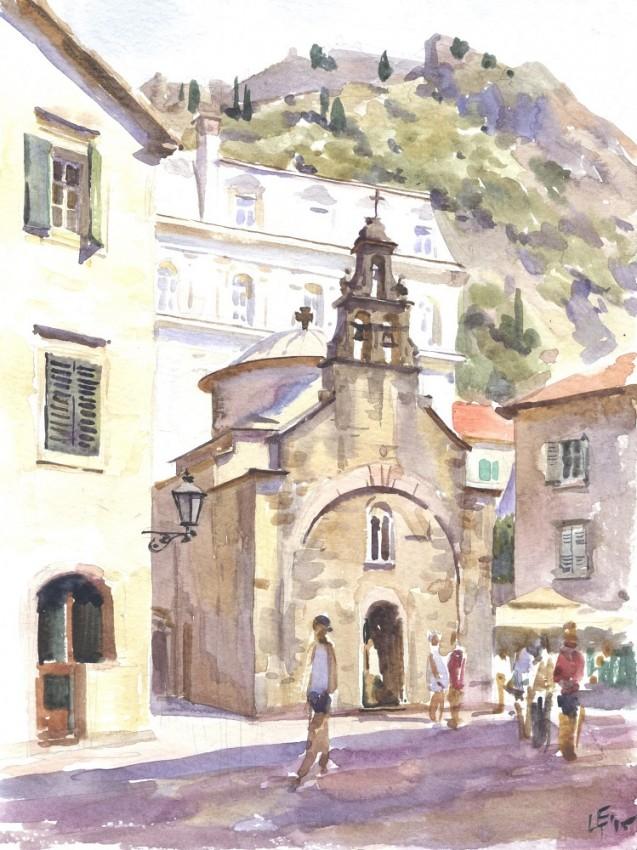 Церковь св.апостола Луки в Которе