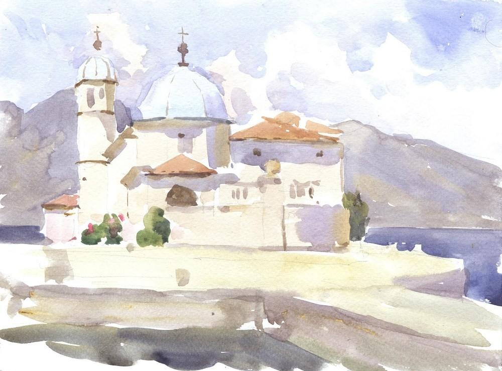 Церковь Богородицы на рифе