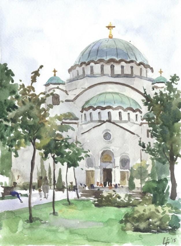 Собор святителя Саввы в Белграде