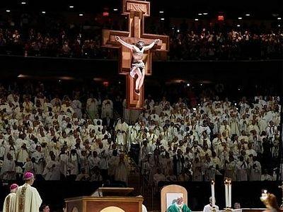 В мессе, которую отслужил Франциск I в Нью-Йорке, в качестве чтеца принял участие комик-гей