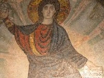 The Unbearded Jesus: The Story of the 5th Century Mosaic of Latomou Monastery St David of Thessaloniki