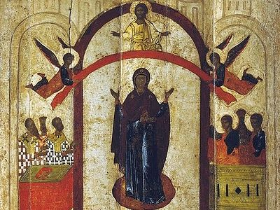 Rejoice, O Our Joy! Sermon on the Feast of the Protection of the Mother of God