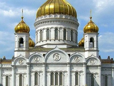 A short history of Christ the Saviour Cathedral in Moscow