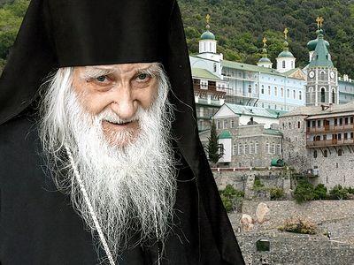 Игумену Пантелеимонова монастыря отцу Иеремии – 100!