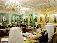 Журналы заседания Священного Синода от 22 октября 2015 года