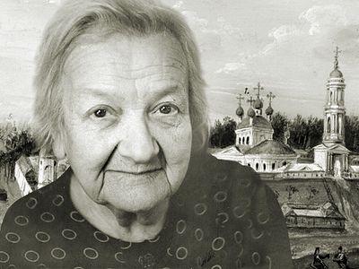 Секретарь Крупской, дочь Оптиной