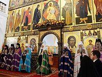 Проповедь после Литургии в Казанской пустыни в Шамордино