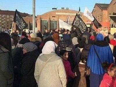 В Копенгагене прошел марш «Хизб ут-Тахрир» – за шариат в европейских странах (+ВИДЕО)