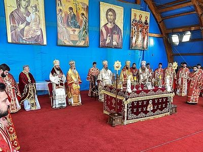 The Feast of St. Demetrius the Great Martyr in Bucharest
