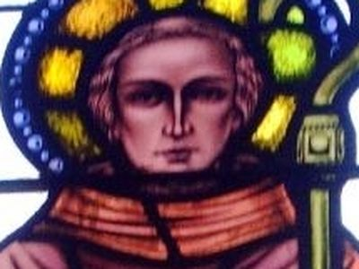 Venerable Fintan Munnu, Abbot of Taghmon in Ireland