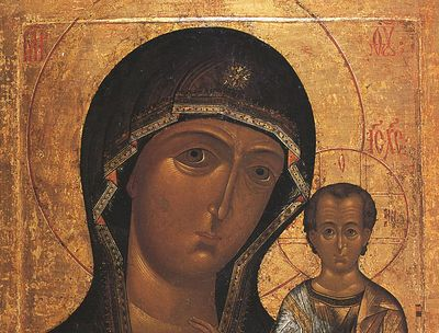 Всенощное бдение в Сретенском монастыре накануне дня празднования в честь Казанской иконы Божией Матери