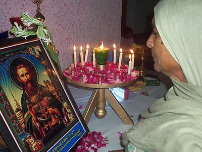 Our Righteous Father John of Kronstadt, Loved by Pakistani Orthodox Christians