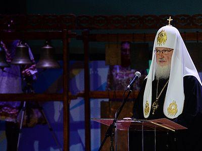 Патриарх Кирилл: Массовое кино обездвиживает мысли и блокирует глубокие чувства