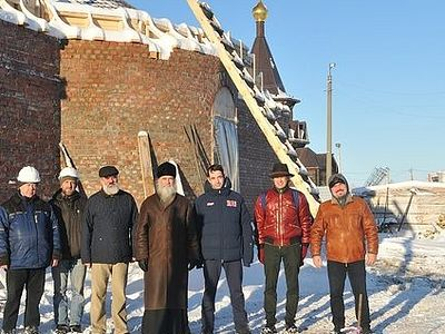 Дмитрий Певцов стал причастным делу созидания Успенского Арктического собора