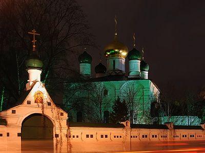Всенощное бдение в Сретенском монастыре накануне Недели 24-й по Пятидесятнице