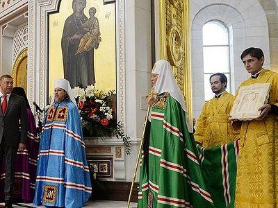 Проповедь после Литургии в кафедральном соборе Христа Спасителя г. Калининграда