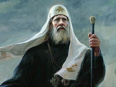 """Patriarch Tikhon is one of the greatest universal saints."""