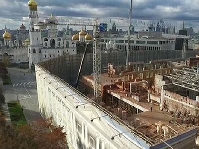 Demolition Has Begun on Soviet-Era Building Built on Site of Kremlin Monasteries