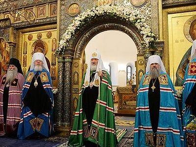 Проповедь после Литургии в Зачатьевском ставропигиальном монастыре