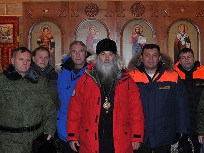 «Россия должна быть защищена»: на самой северной погранзаставе построили часовню (ФОТО)
