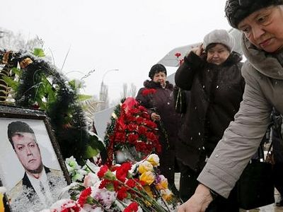 More Than 10,000 People Came To Pay Last Respects To Hero Of Russia, Oleg Peshkov