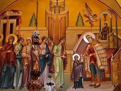 На Афоне встретили праздник Введения во храм Пресвятой Богородицы