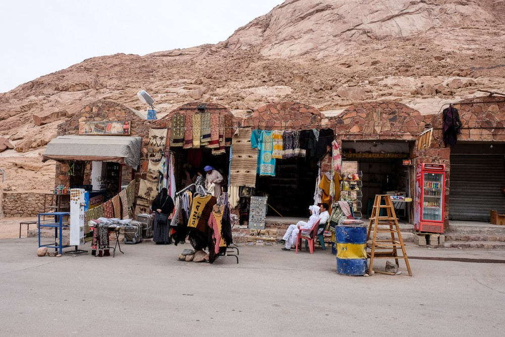 The bedouins' market not far from St. Catherine's
