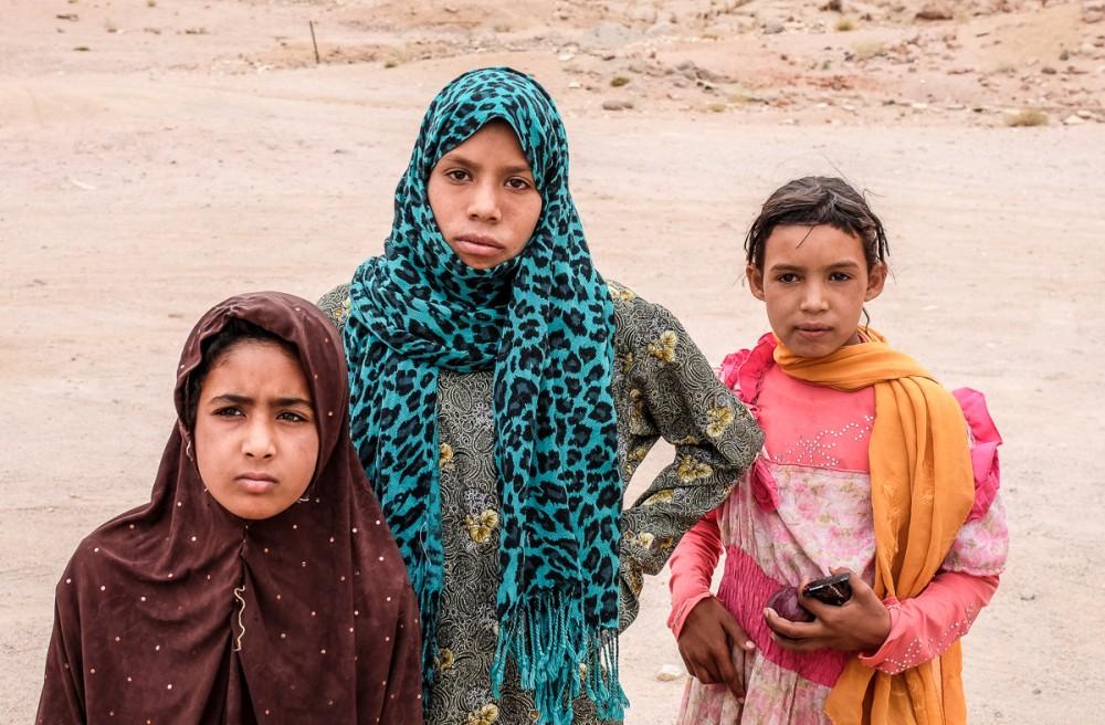 Бедуинские дети