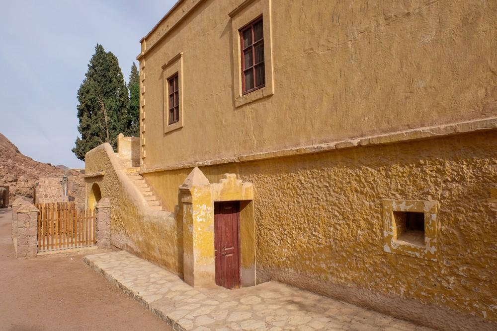The monastery's ossuary
