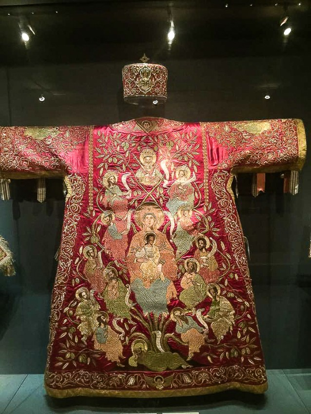 Sakkos (a bishop's robe) of the Archbishop of Sinai