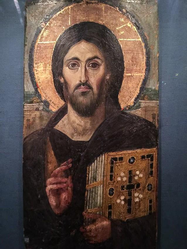 Синайская икона Спасителя