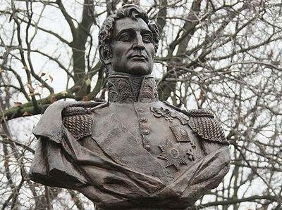 В Петербурге открыли первый в России памятник герою войны 1812 года – графу Михаилу Милорадовичу