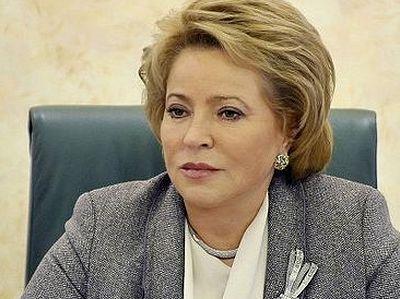 Валентина Матвиенко о смертной казни: «Мы не вправе лишать человека жизни. Это не по-православному»