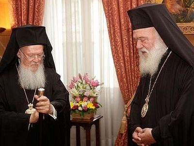 Tension between the Local Orthodox Churches of Greece and Constantinople is growing.
