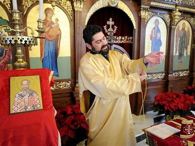 Faith on their Sleeves: Orthodox vestments hold layers of meaning
