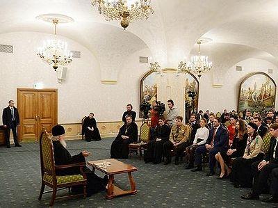 Ответы на вопросы представителей Молодежной общественной палаты и Палаты молодых законодателей при Совете Федерации