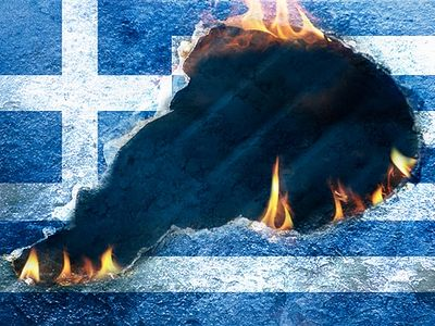 """Today is a black day for the history of Greece, but it will get worse."""