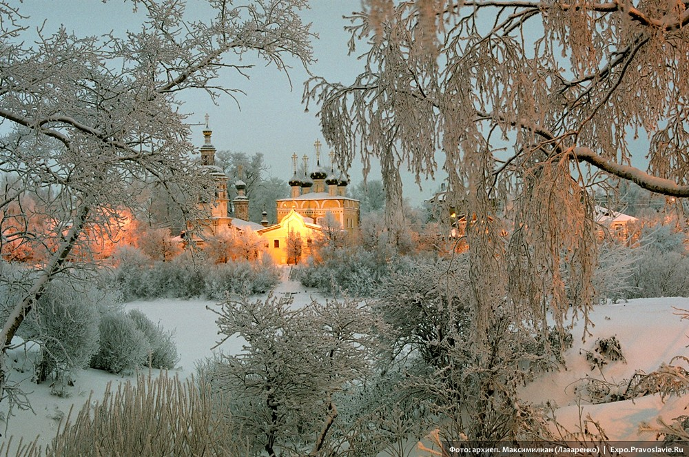 The Church of St. Dimitry Prilutsky on Navolok, the city of Vologda