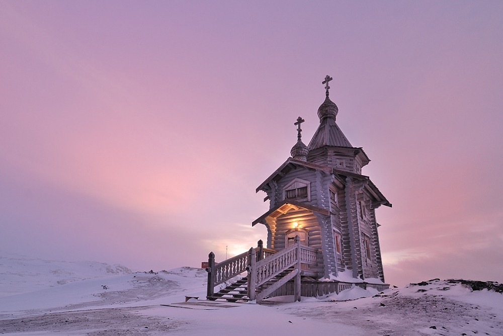 The Holy Trinity Church in Antarctica